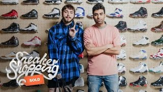 Download Post Malone Goes Sneaker Shopping With Complex Mp3 and Videos