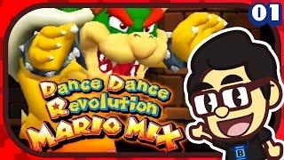 Dance Dance Revolution: Mario Mix REVIEW - BGRA!
