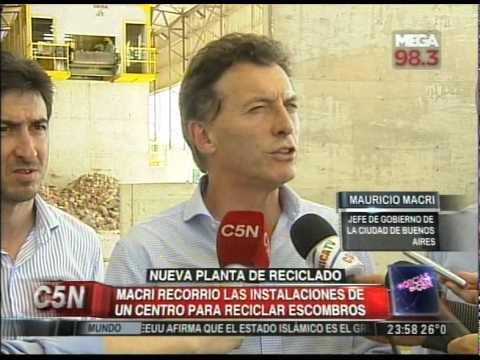 C5N - SOCIEDAD: NUEVA PLANTA DE RECICLADO