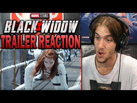 Black Widow (2021)   New Trailer - REACTION!!!