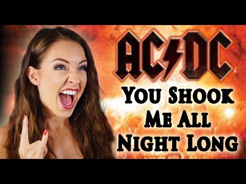 AC/DC - You Shook Me All Night Long ⚡(Cover by Minniva featuring Quentin Cornet)