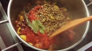 суп Минестроне Лучший осенний рецепт