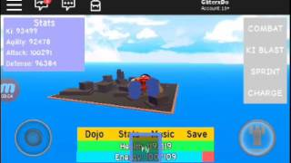 Roblox dbz rage how to train ki faster[Andriod only]