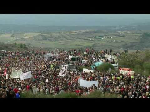 Combat contre le Gaz de Schistes en France