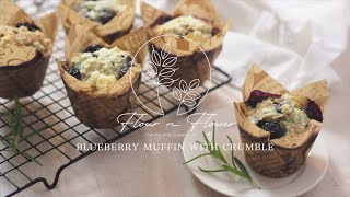 Blueberry Muffin with crumble …