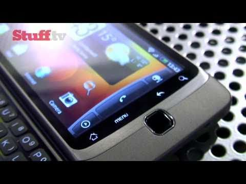 HTC Desire Z First Look Review