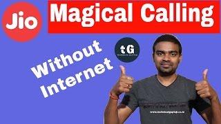 The Magic of a JIO   JIO 4G calling without Internet   Technical Guptaji