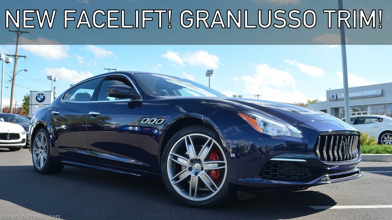 2017 Maserati Quattroporte S Q4 Granlusso In Depth Review & Drive!