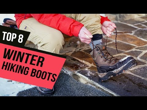 BEST WINTER HIKING BOOTS! (2020)