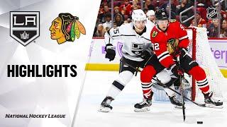NHL Highlights | Kings @ Blackhawks 10/27/19
