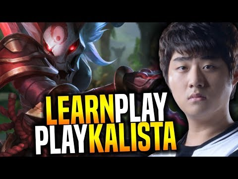Bang Shows You How to Play Kalista! - SKT T1 Bang SoloQ Playing Kalista ADC! | SKT T1 Replays