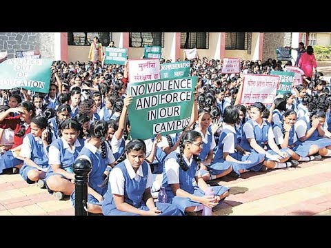 Sudents harassed by teachers in UP and Hyderabad