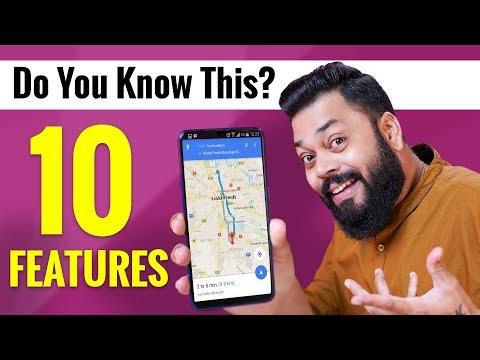 10 Google Maps Tips & Tricks ⚡ इनमे से आपको कितने पता है??