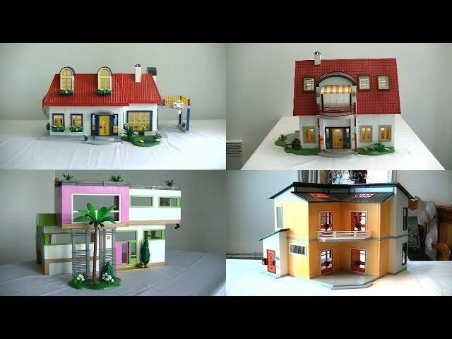 Evolution Playmobil Fr La Maison Moderne 2000 2017 Youtube