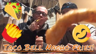 Taco Bell Nacho Fries Review!