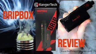 Kangertech: Dripbox 60w Squonk Mod Starter Kit Review