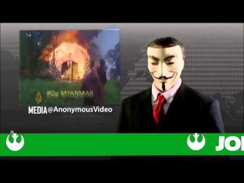 Anonymous - #Op MYANMAR