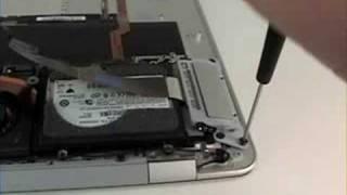 Macbook Air Repair - Hard Drive Removal