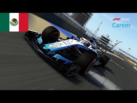 F1 2018 Career mode Rokit Williams Racing S3E18 | Mexican Grand Prix