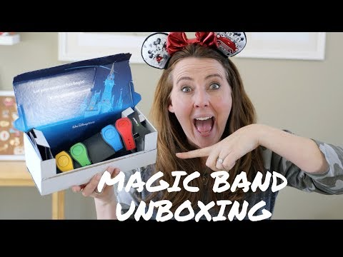 MAGICBAND 2.0 UNBOXING For Walt Disney World 2019