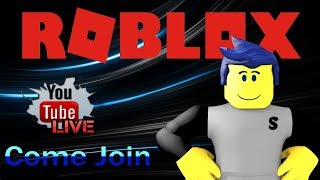 HAVING SOME FUN | LETS GET TO 700 SUBS!!! - Roblox Livestream