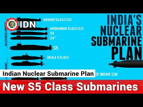 Indian Nuclear Submarine Plans New S5 Class Submarines is Coming | India Defence News