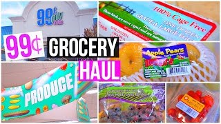 99 CENT STORE GROCERY HAUL