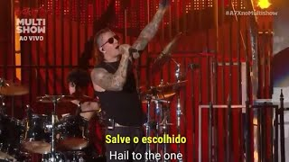 Avenged Sevenfold - Hail To The King Live On Rock In Rio 2013 (LEGENDADO-SUBTITLED) [PTBR-ING]