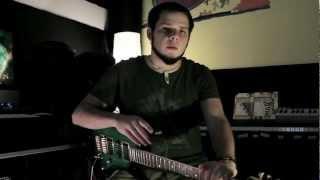 David Maxim Micic - Extended Range Composition (Ab Eb Ab Eb Ab Bb): GuitarMessenger.com Lesson