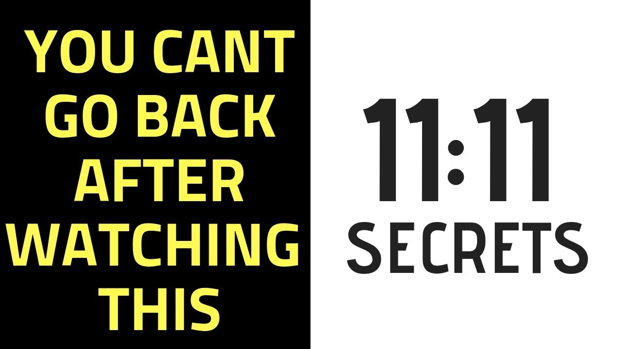 1111 Meaning: Why Do I Keep Seeing 1111 Everywhere?   11:11 SECRETS