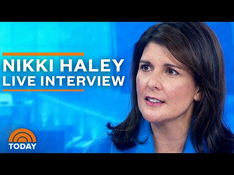 Nikki Haley Exclusive Interview: 'Let The People Decide' If Trump Should Stay In Office | TODAY