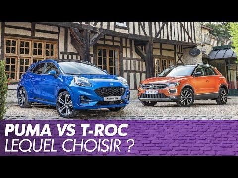 Hyundai Derniers Mod C3 A8les >> Ford Puma Vs Volkswagen T Roc Premier Duel Statique En