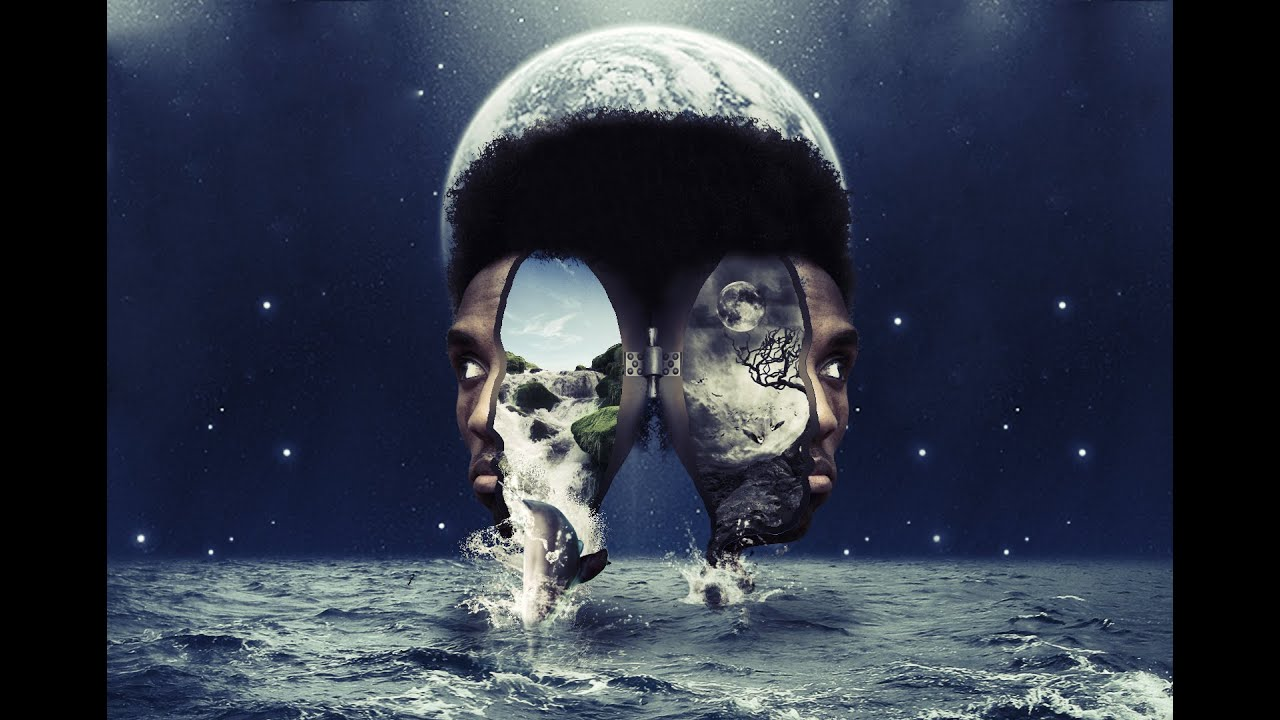 Paint Falling Wallpaper Photoshop Speed Art Face Surreal Photomanipulation Youtube
