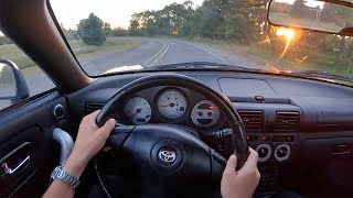 2003 Toyota MR-2 Spyder 6-Speed Manual - POV Sunset Drive & Owner Review