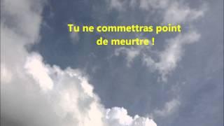 Les 10 Commandements de Dieu !
