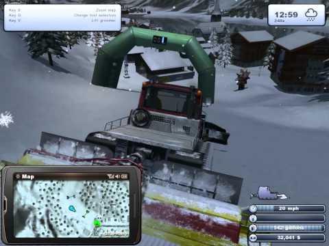 Ski Region Simulator 2012 Gameplay V2