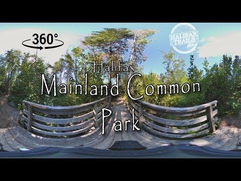 Halifax Mainland Common Park - 360° V.R.