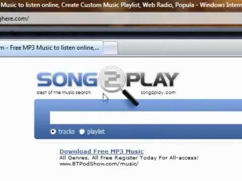 Best Site For Mp3 Downloads (FREE)