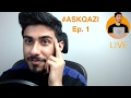 Ideas MUST Respect Skills, College vs. Online Education, Best OS for Coding | AskQazi 1 (LIVE)
