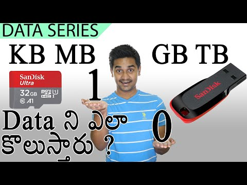 How to measure DATA!? - bits, Bytes, KB, MB, GB, TB, PB, EB, ZB, YB   #TCT_Data_Series 1