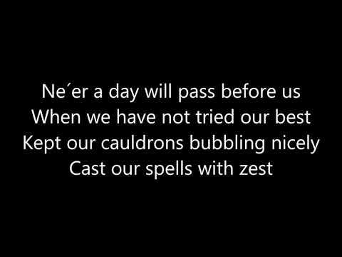 The Worst Witch and The New Worst Witch - School Song - Lyrics