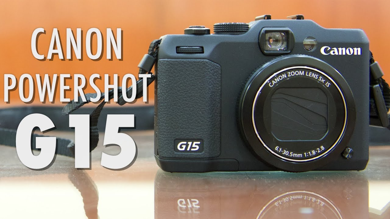 Canon powershot g15 video review youtube for Housse canon g15