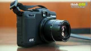 Canon PowerShot G15 - Video Review