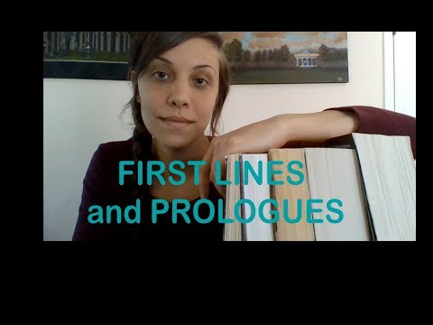 First Lines and Prologues