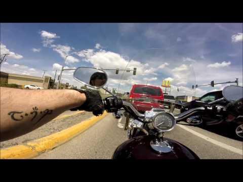Billings MT. ride through town