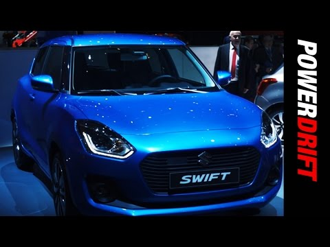 New Maruti Suzuki Swift : Geneva Motor Show : PowerDrift
