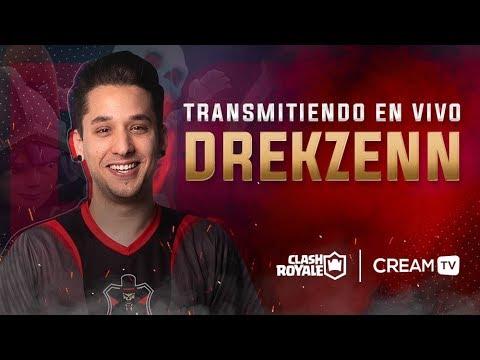 TORNEO DE ELECCIÓN JUGANDO CON SUBS ! ! CLASH ROYALE - DrekzeNN - Cream TV