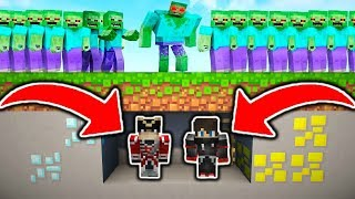 1.000.000 DE ZOMBIES VS MA BASE MINECRAFT !