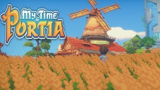 Let's Play My Time At Portia - 19 - Livestock/Museum Update!