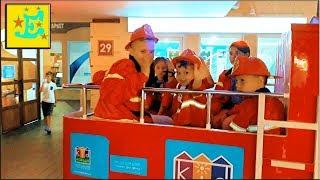 День Рождения ЕГОРКИ в Кидландии...!!! Город Професий...!!!